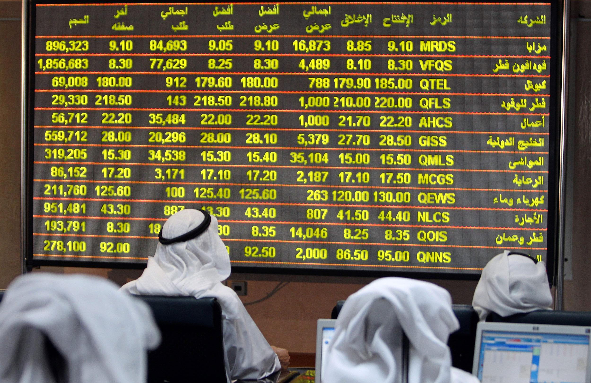 Arab stocks fell almost 25% in Q1 amid low oil prices and Covid-19 pandemic