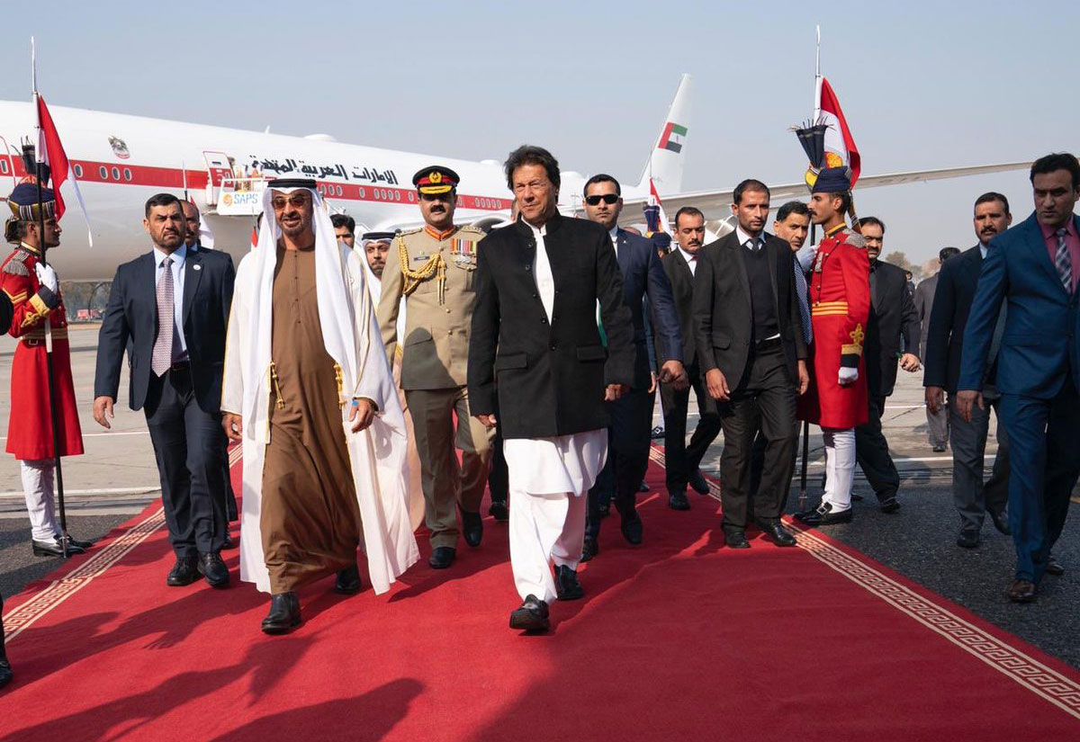 Pakistan rolls out red carpet welcome for UAE crown prince