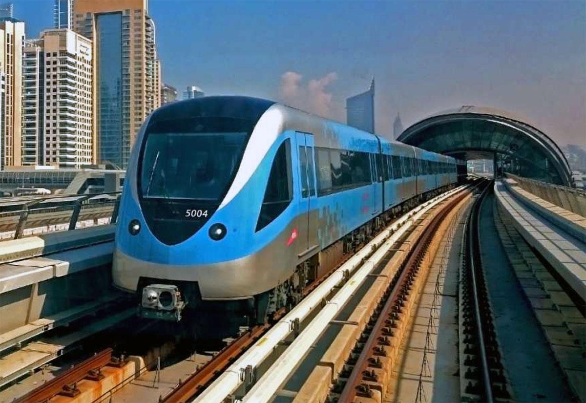 Dubai Metro is a Dubai Public Transport
