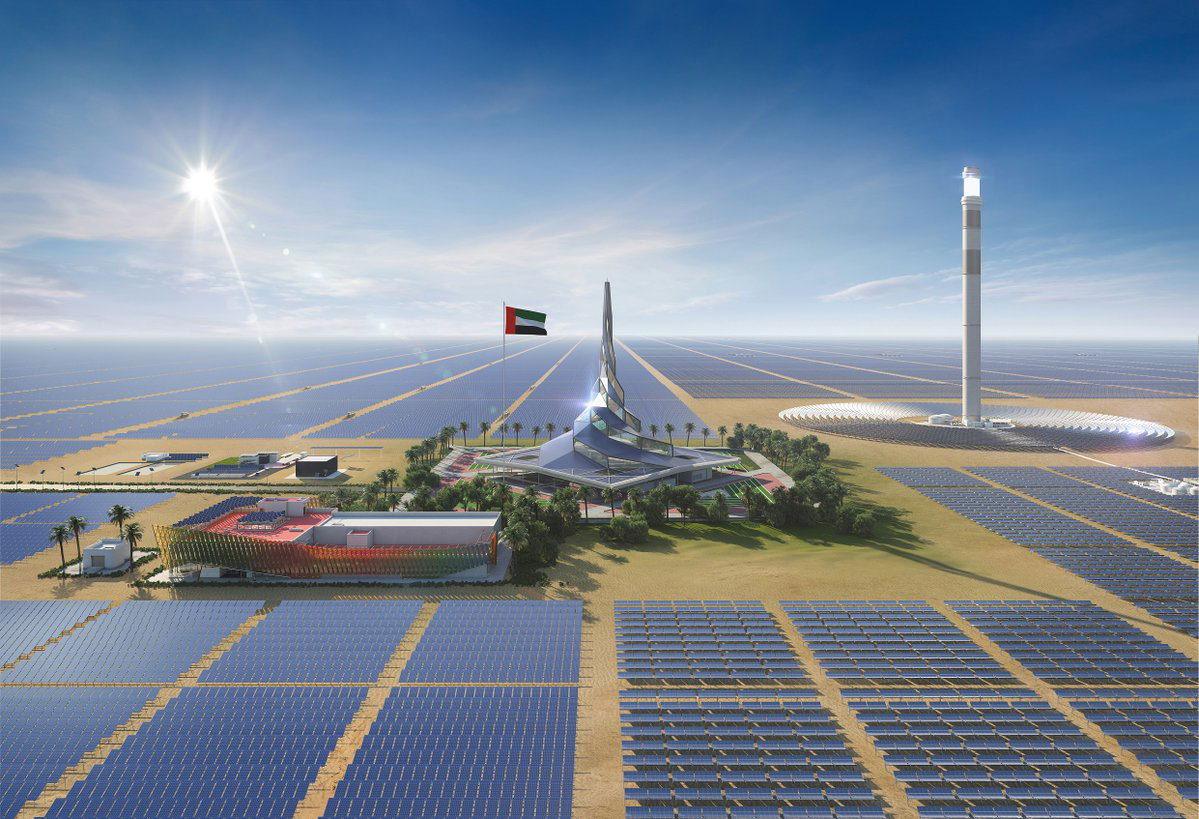 Desert heat will help keep the lights on in Dubai after sundown thumbnail