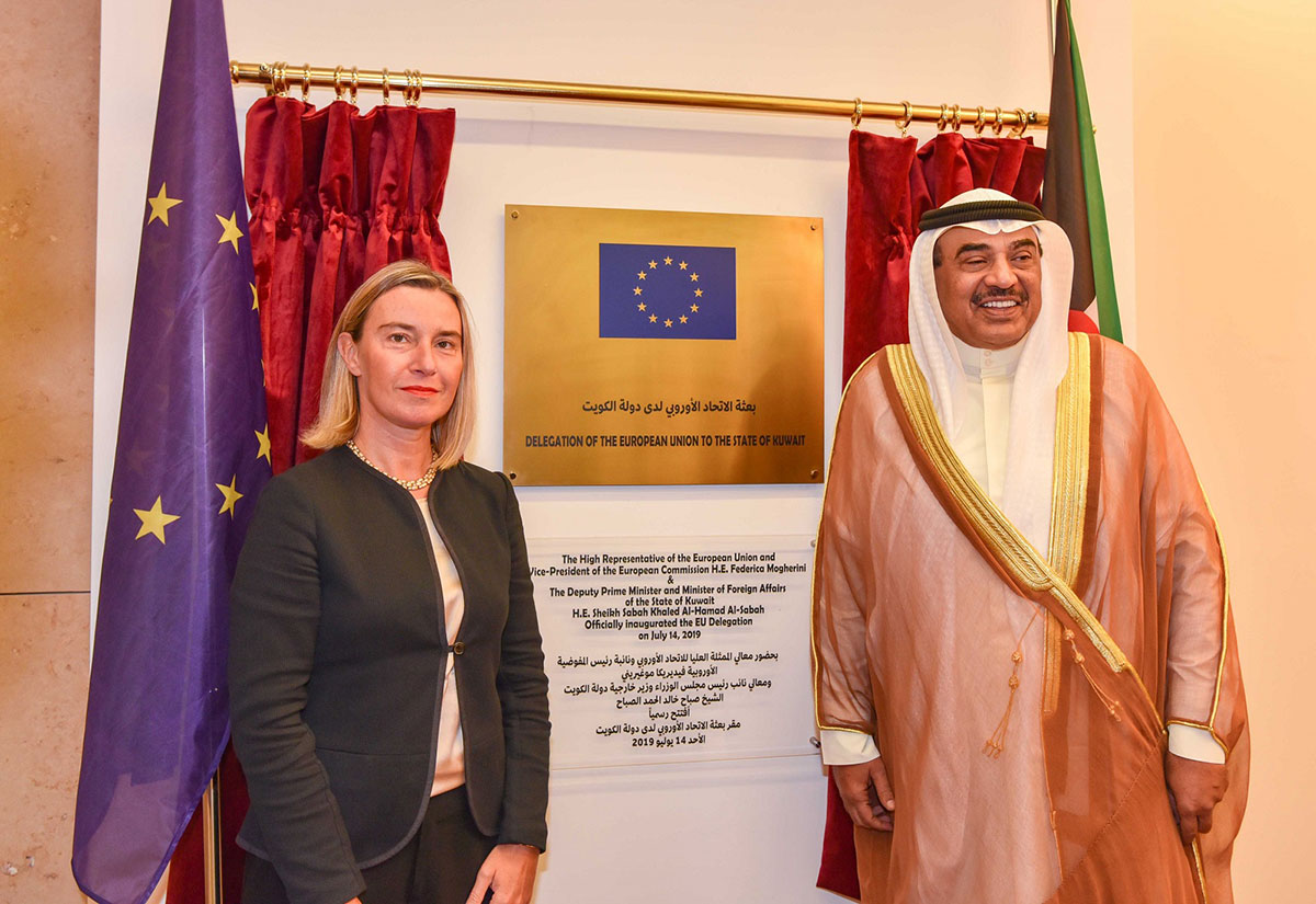 European Union increasing its presence, engagement in the Middle East, says Mogherini