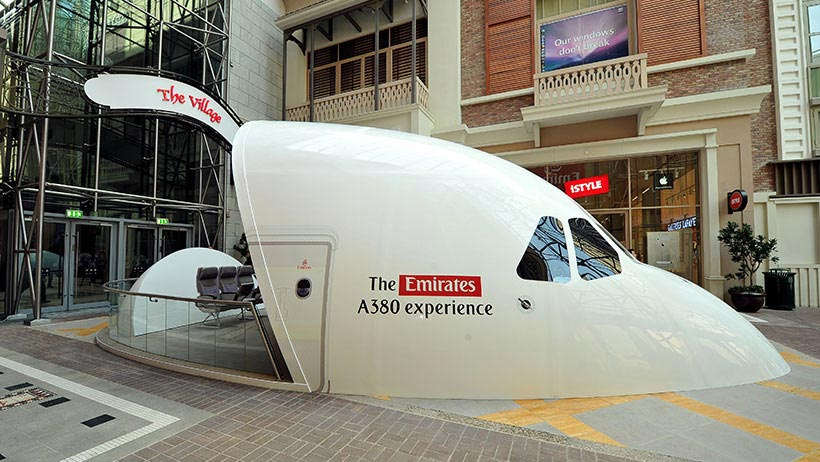 Things to do at Dubai Mall   12. Become a Pilot with Emirates