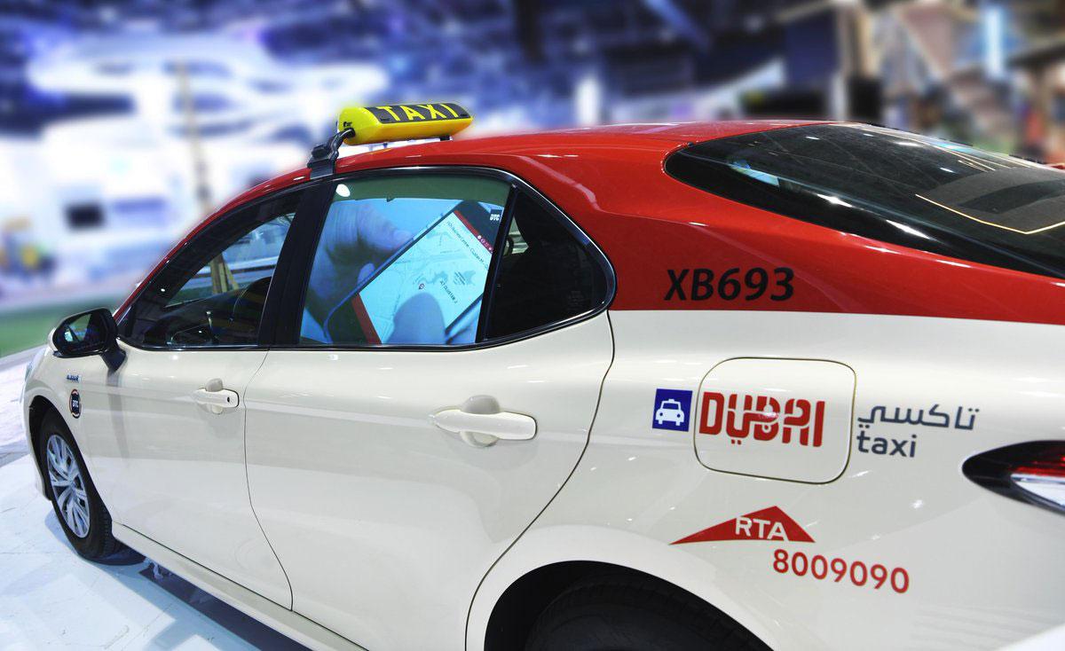 Dubai Public Transport taxi