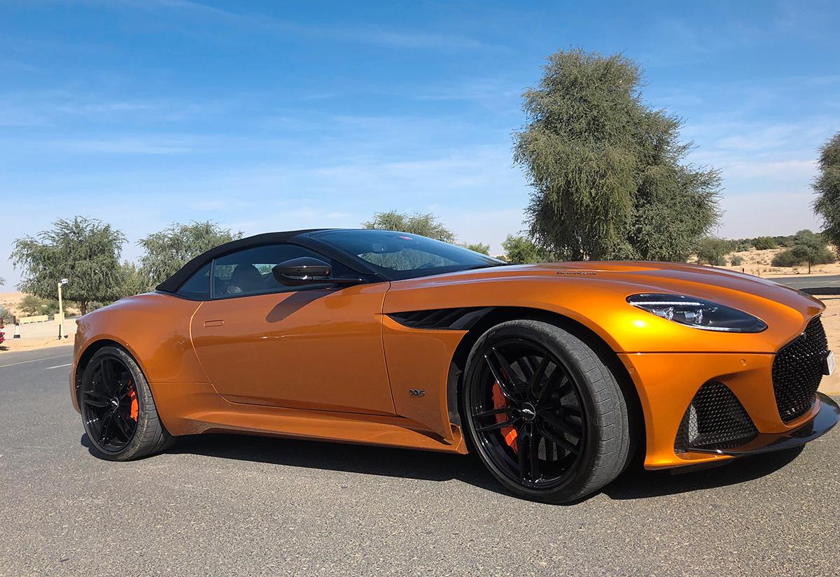 Review Aston Martin Dbs Superleggera Volante Arabianbusiness