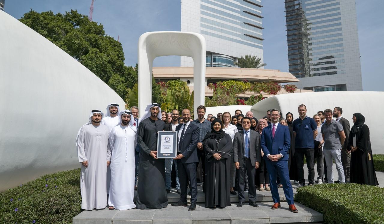 Dubai earns Guinness world record for 3D printed office