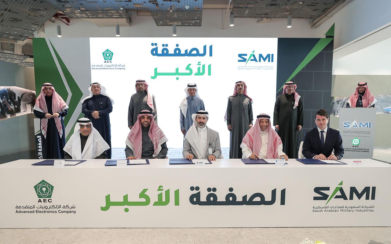 SAMI inks Saudi Arabia's largest ever military industries deal
