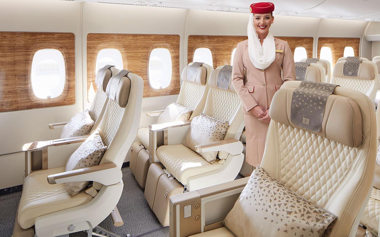Emirates chief says new premium economy will take A380s to the 'next level' thumbnail