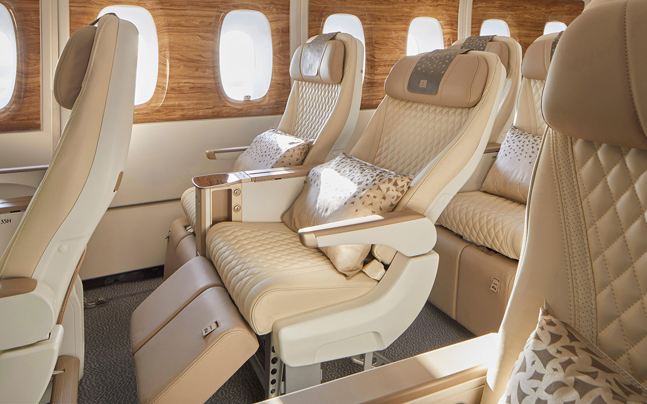 Emirates set to debut new look A380s with premium economy on London route thumbnail