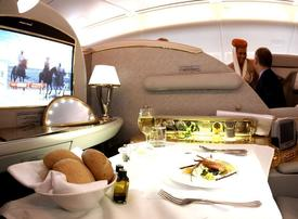 Revealed: how to fly first-class for cheaper than economy
