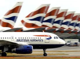 How much it costs to carbon offset BA flights from the Middle East to London