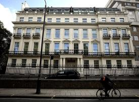 London Mansion owned by late Saudi prince set to shatter record price