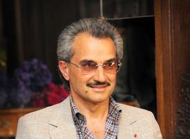 """I get paid one Saudi riyal a year,"" says Prince Alwaleed"