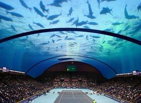 Where are they now? Dubai's underwater tennis stadium
