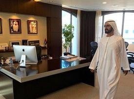 Watch: Sheikh Mohammed finds empty office during government spot-checks