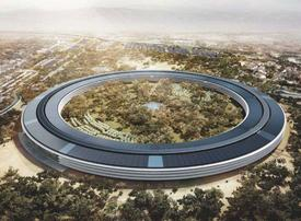 Video: Apple disrupts Silicon Valley with another eye-catcher