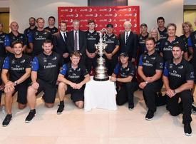 In pictures: Emirates Team New Zealand bring the prestigious America's Cup to Dubai