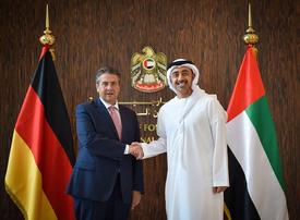 In pictures: German Foreign Minister on official visit to Abu Dhabi