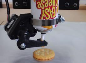 Video: 3D printed cheese