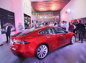 Tesla opens first showroom in Dubai