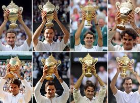 In pictures: Roger Federer wins 8th Wimbledon title