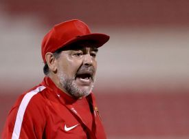 Maradona quits as coach of UAE side Al Fujairah