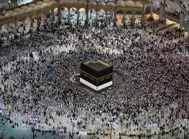1.735 million pilgrims set for first day of Hajj