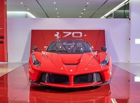 Ferrari unveils LaFerrari Aperta, special edition cars, in Dubai
