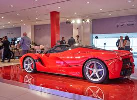 No plans for 100% electric car from Ferrari, says MidEast chief