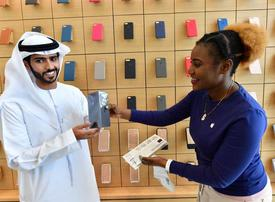 In pictures: Apple iPhone 8 goes on sale in Dubai