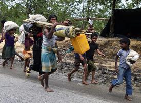 Video: Myanmar's humanitarian crisis