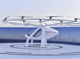 Video: Dubai just tested its autonomous flying drone taxi