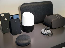 In pictures: Google launches new smartphone and other gadgets
