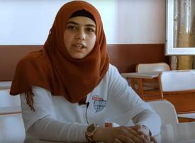 Video: Syrian teenagers get chance to learn journalism in Turkey