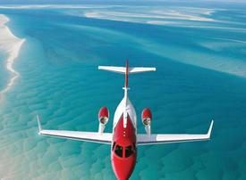 Video: What it's like to fly in Honda's new $4.9 million private jet, the HondaJet