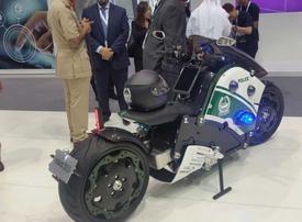 Dubai Police unveil flying, autonomous tech at Gitex 2017