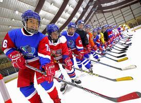 Kuwait 'ice ladies' lace up for world hockey tournament