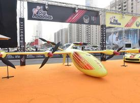 Video: Exclusive look at the world's first fire-fighting drone in Dubai