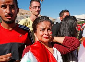 Tears in Damascus as Syria misses out on World Cup