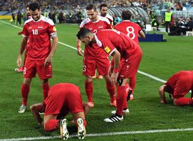 In pictures: Australia defeated Syria in World Cup qualifying play-off