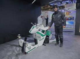 Dubai Police 'hoverbike' manufacturers claim to set world record