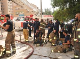 Five die in Kuwait apartment block blaze