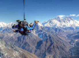 In pictures: 5 of the best skydiving spots around the world