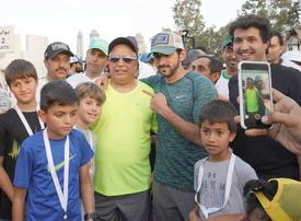 In pictures: Sheikh Hamdan launches Dubai Fitness Challenge