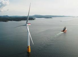 Video: This wind farm is floating on the ocean - here's how it was built