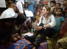 Video: Queen Rania on Rohingya crisis - misery everywhere