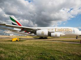 How did UAE carriers perform in list of delayed flights to the UK?