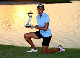In pictures: Aditi Ashok clinches Fatima bint Mubarak Ladies Open at Saadiyat Beach Golf in Abu Dhabi