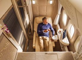 Virtual windows, NASA-inspired seats: get a glimpse of Emirates first class