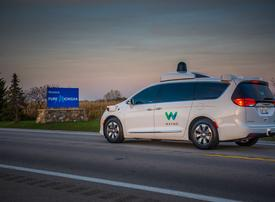Video: Google owner tests first driverless car on the city streets