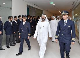Video: Sheikh Mohammed inaugurates Emirates Flight Training Academy